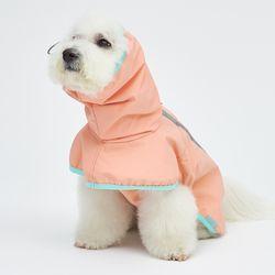 Strawberry Rain Coat 소형견 - S M Size