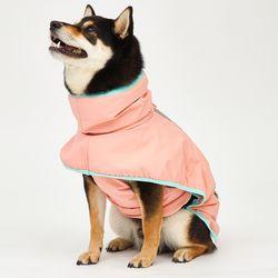 Strawberry Rain Coat 중형견 - L 2L 3L Size