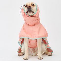 Strawberry Rain Coat 대형견 - 4L 5L 6L Size