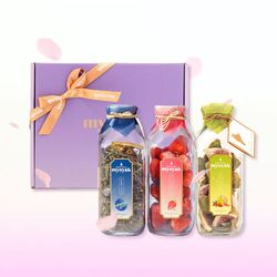묘약 담금주키트 3구 선물세트(보자기포장 미포함) -500ml X 3ea