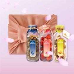 묘약 담금주키트 3구 선물세트(보자기포장 포함) -500ml X 3ea