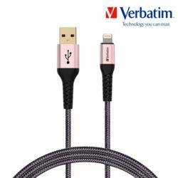 버바팀 라이트닝 8핀 to USB-A 케블라 케이블 15cm
