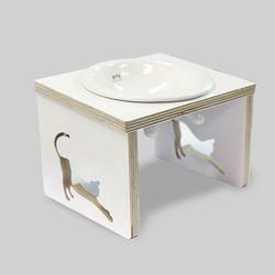 뽀떼-쿡맘 -W 1구-강아지밥그릇고양이밥그릇
