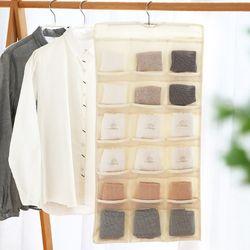 옷걸이형 속옷 수납 정리함