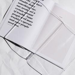 책과 사람을 연결하는 문진 ACRYLIC PAPER