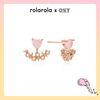 [OSTX로라로라] 로즈쿼츠 핑크하트 귀걸이 OTS119805QPP