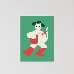 캣맨엽서-puss in boots