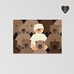 (유기견후원)독맨엽서-teddy dog
