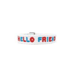 릴레이 밴드 HELLO FRIEND 결식아동 기부팔찌
