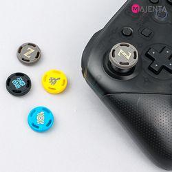 마젠타 닌텐도 스위치 프로컨트롤러 젤다 스틱 커버