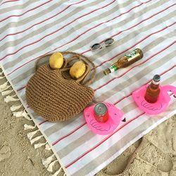 피크닉매트 단품-  Beach Picnic Red