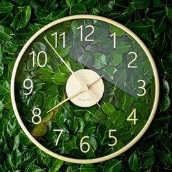 바나나큰41cm유리나무 벤자민Benjamin거실사무실인테리어시계
