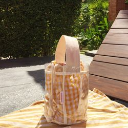 eggg beach bag