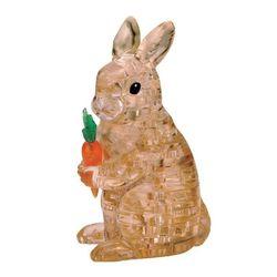41피스 크리스탈퍼즐 - 토끼 (브라운)