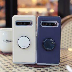 LG V50 (LG V500) Liso-Agarre2 그립톡 카드 범퍼 케이스