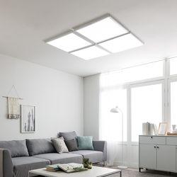 스피아노 LED평판 엣지조명세트180W 조합형(중대형거실)