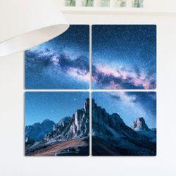 cf387-멀티액자별빛가득한하늘