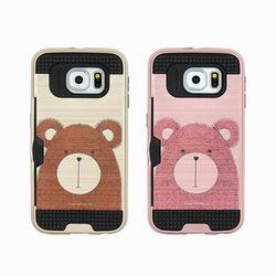 LG G7 (LG G710) Obli-Bear 카드 범퍼 케이스