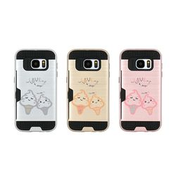 LG G7 (LG G710) Obli-icecream 카드 범퍼 케이스
