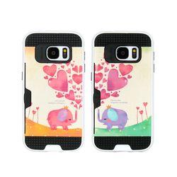 LG G7 (LG G710) Obli-LoveingU 카드 범퍼 케이스