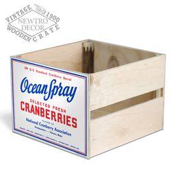 [레트로1900우든박스]OceanSpray크랜베리우든크레이트 CC1952