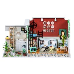 [adico]DIY 미니어처 테라스 하우스 - 거실