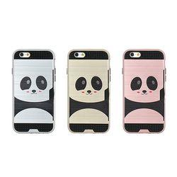 아이폰8플러스 Obli-Panda 카드 범퍼 케이스