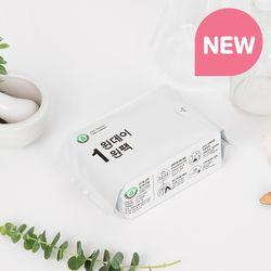 [리뉴얼] 원데이원팩 유기농 생리대 오버나이트 1팩(4P)