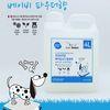 대용량 탈취제 향균탈취제 4L - 베이비 파우더향강아지위생용품