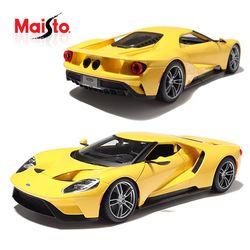 마이스토 1:18 2017 포드 GT Yellow