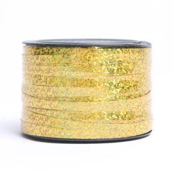 컬링리본(소형)-홀로그램 골드