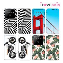LG V50 ThinQ 듀얼스크린 주문제작 휴대폰스킨 보호필름 2매