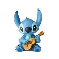 디즈니 기타치는 스티치 피규어 9cm