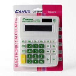 팬시 8자리 전자 계산기