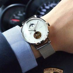 베스트돈 남자 메쉬밴드 메탈 손목시계 BD7128G
