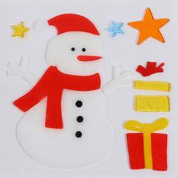 눈사람 젤리스티커 20cm 트리 크리스마스 장식 TRMBLS
