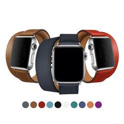 애플워치 더블투어단색 밴드 38mm 42mm 시계줄