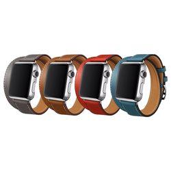 애플워치 싱글투어레더 밴드 더블 38mm 42mm 시계줄