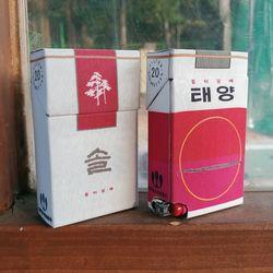 옛날담배 솔태양 담배케이스 CIGARETTE CASE