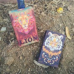 호랑이 사자 담배케이스 CIGARETTE CASE