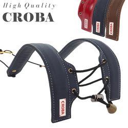 소가죽 컬러 색소폰스트랩 CSS-03COLOR 목걸이 멜빵 어깨걸이용
