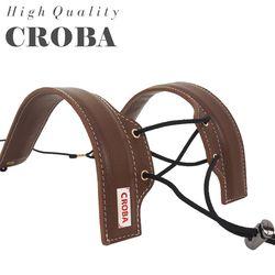 소가죽 브라운 색소폰스트랩 CSS-03B 목걸이 멜빵 어깨걸이용