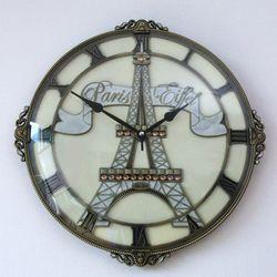 엔틱 에펠탑 벽시계