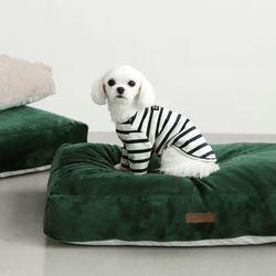 클라우드다운 밍크극세사 강아지 마약방석 커버