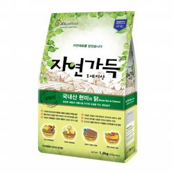 강아지사료 자연가득 유기농 현미와 닭고기 1.2kg(1세이상)