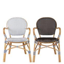 patio rattan arm chair(파티오 라탄 암체어)