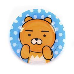 카카오프렌즈 접시 [캔디유리-라이언-KF8387]