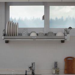 높이조절 창문형 식기건조대 900