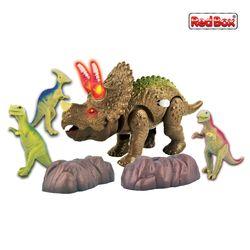 [레드박스]세뿔 트리케라톱스 공룡놀이세트 6P (612R24379)