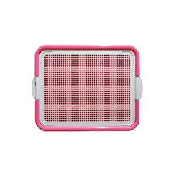 강아지 배변용품 신한 펫타임 강판 화장실(AMT-40) 핑크
